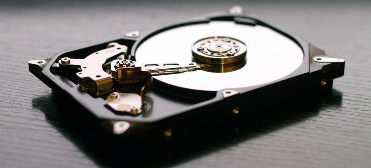 recover hard drive shrink space